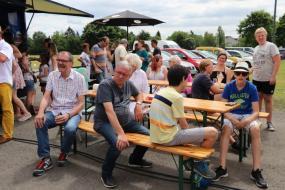 """Vereinsgrillfest unter dem Motto: """"Winterbrauchtum trifft Sommerbrauchtum"""""""