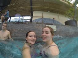 Schwimmausflug mit der Jugend