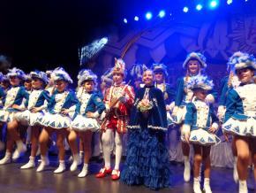 Zu Besuch bei der Prinzengarde Blau-Weiß