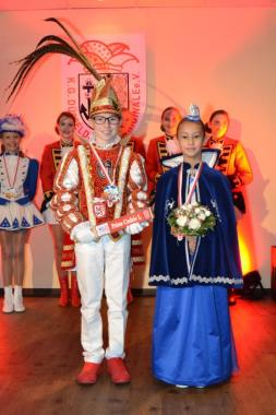 Unser Kinderprinzenpaar Prinz Cedric I. und seine Venetia Saya ist gekürt!