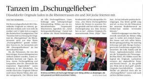 """Tanzen im """"Dschungelfieber"""""""