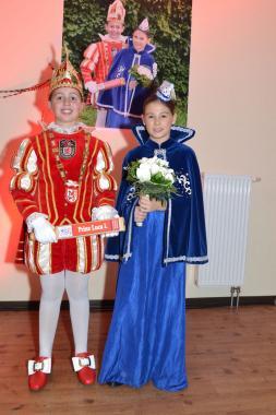 Prinz Luca I. und Venetia Marlene sind unser neues Kinderprinzenpaar