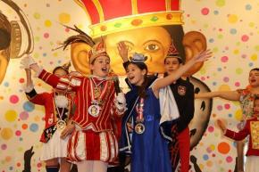 Heimspiel für unsere Venetia beim Kinderkarneval der Rather Aape