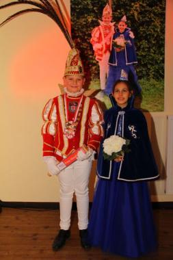 Prinz Maurice I. und Venetia Lisa bilden unser neues Kinderprinzenpaar