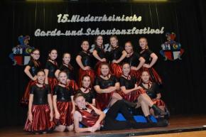 Teilnahme am 15. Niederrheinischen Garde- und Schautanzfestival