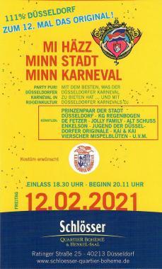 Mi Häzz, Minn Stadt, Minn Karneval
