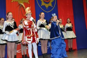 Besuch bei der Leibgarde der Prinzessin der Stadt Krefeld