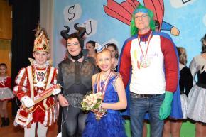 Lauter Superhelden in der Mosaik-Schule