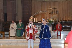 Kinderkarnevalsgottesdienst in Rath - Kirche karnevalistisch