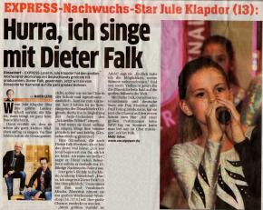 Hurra, ich singe mit Dieter Falk