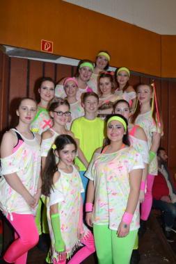 Erfolgreiche Teilnahme beim 14. Niederrheinschen Garde- und Schautanzfestival