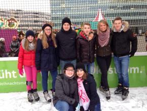 Kinderprinzenclub trifft sich zum Eislaufen